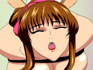 hottest Big boobed horny anime teacher all tied up and banged by her student for free