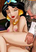 Pocahontas Belle have sex Cinderella Ariel blowjob