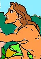 free Sex toons Tarzan fucking Jane in all her holes cartoon pics