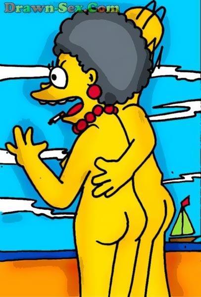 Simpsons toon orgy