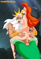 cartoonAreil Mermaid first sex experience films