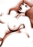 porn Retro porn artworks with a Scooby Doo