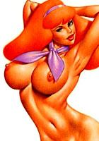 free Sex toons Retro porn artworks with a Scooby Doo cartoon pics