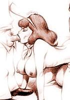 cartoonRetro porn artworks with a Scooby Doo films