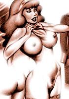 Winx Retro porn artworks with a Scooby Doo Club