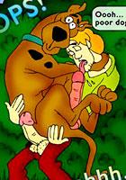 famous cartoon films Comix! About Scooby Doo super Sex