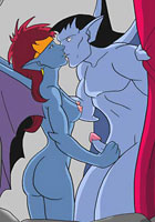 famous cartoon films Lusty Gargoils fucking and sucking
