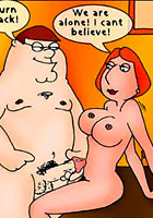 famous cartoon films Comix! Griifins and their sex fancy