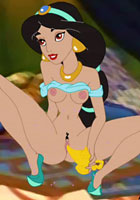 Sex JSexy Jasmine and horny Aladdin porn cartoon free toons pics