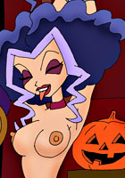 100%free Winx girls celebrate halloween toon