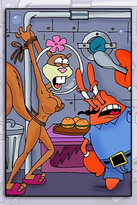 Секс комиксы губка боб