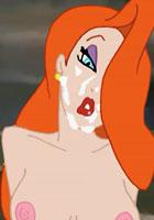 Winx Jessica Rabbit cums on the piano Club porn