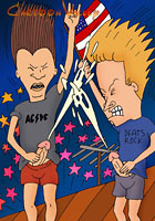 porn Independence Day drunk toons party action