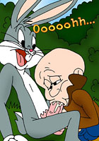 a Bugs Bunny fastly fucking his girl toon pics